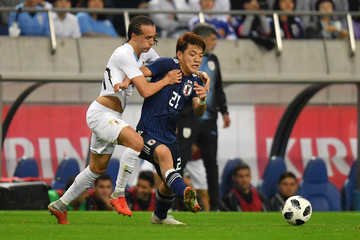 Martin Caceres Japan vs. Uruguay - International Friendly