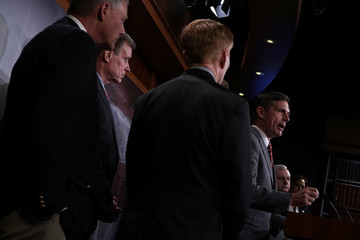 Martin Heinrich Senate Intelligence Committee Leaders Present Findings On Threats To Election Infrastructure