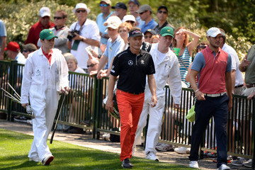 Martin Kaymer Bernhard Langer The Masters Preview: Day 3