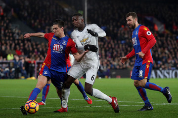 Martin Kelly Crystal Palace v Manchester United - Premier League