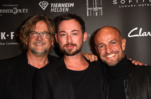 Marcel Ostertag Charity Fashion Show 2015 [facial hair,event,premiere,beard,moustache,smile,martin krug,marcel ostertag,peyman amin,munich,germany,sofitel munich bayerpost,marcel ostertag charity fashion show]