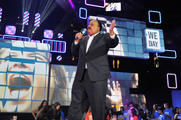 Martin Luther King III We Day California at Oracle Arena