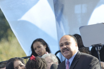 Martin Luther King III Martin Luther King, Jr. Memorial Dedication