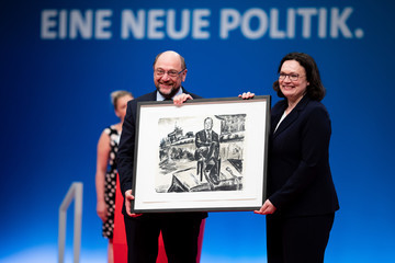 Martin Schulz SPD Holds Federal Party Congress