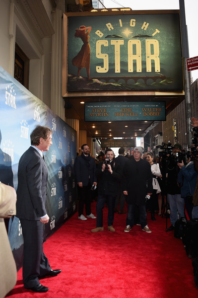 'Bright Star' Opening Night on Broadway - Arrivals & Curtain Call