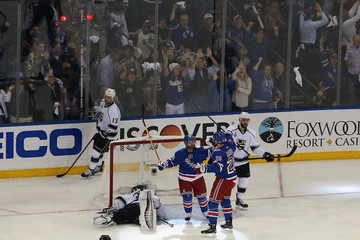 Martin St. Louis Chris Kreider NHL Stanley Cup Final: Game 4