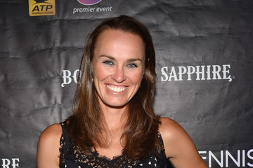 Martina Hingis 2014 Sony Open VIP Player's Party In Miami Presented By BOMBAY SAPPHIRE Gin