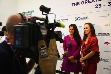 Martina Hingis BNP Paribas WTA Finals: Singapore 2016 - Day Three