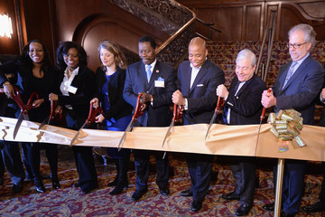 Marty Markowitz Kings Theatre Ribbon-Cutting Ceremony