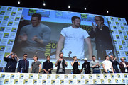 Jeremy Renner and Kevin Feige Photos Photo