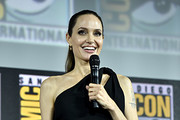 Angelina Jolie of Marvel Studios' 'The Eternals' at the San Diego Comic-Con International 2019 Marvel Studios Panel in Hall H on July 20, 2019 in San Diego, California.