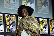Teyonah Parris of Marvel Studios' 'WandaVision' at the San Diego Comic-Con International 2019 Marvel Studios Panel in Hall H on July 20, 2019 in San Diego, California.