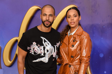 Marvin Humes Rochelle Humes 'Aladdin' European Gala - Red Carpet Arrivals