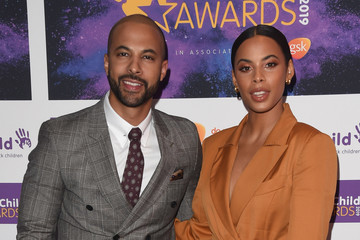 Marvin Humes Rochelle Humes The Duke And Duchess Of Sussex Attend WellChild Awards