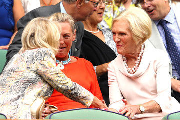 Mary Berry Day Eight: The Championships - Wimbledon 2018