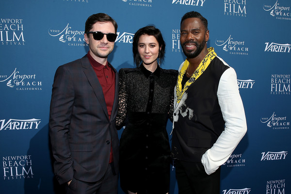 Variety 10 Actors To Watch And Newport Beach Film Festival Fall Honors [yellow,event,premiere,eyewear,suit,performance,variety,newport beach film festival fall honors,l-r,variety 10,pelican hill,actors,actors,colman domingo,topher grace,mary elizabeth winstead]