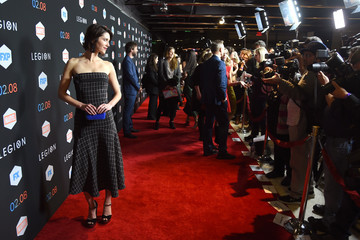 Mary Elizabeth Winstead Premiere Of FX's 'Legion' - Red Carpet