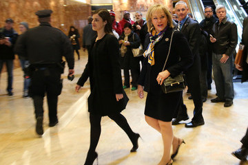 Mary Fallin President-Elect Donald Trump Holds Meetings At His Trump Tower Residence In New York