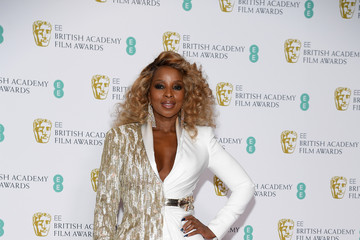 Mary J. Blige EE British Academy Film Awards - Press Room