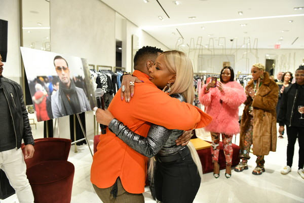 Fashion Photographer Robert Ector Hosts Details Book Signing And Meet & Greet With Mary J. Blige At Saks Fifth Avenue