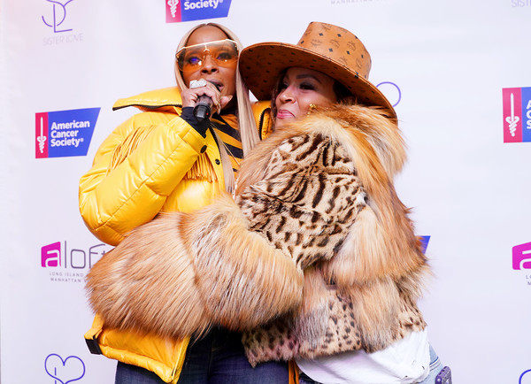 Mary J Blige And Simone I Smith Launch Their Sister Love Jewelry Holiday Pop Up Shop In Long Island City, NY