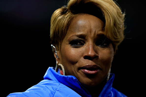 Mary J. Blige - St Louis Cardinals v Boston Red Sox