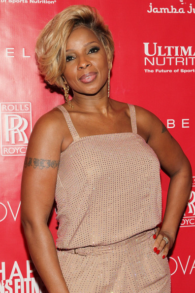 Mary J Blige Shape Magazine