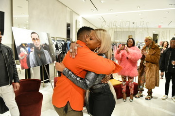 Mary J. Blige Fashion Photographer Robert Ector Hosts Details Book Signing And Meet & Greet With Mary J. Blige At Saks Fifth Avenue