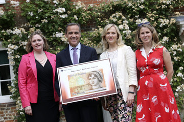 Mary Macleod Mark Carney Launches New UK Banknote