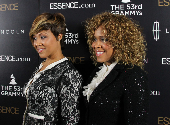 "Mary Mary Recording artists Mary Mary attend the second annual Essence ""Black Women in Music"" event at the Playhouse Hollywood on February 9, 2011 in Los Angeles, California."