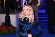 """Clara Paget attends the European Premiere of """"Mary Poppins Returns"""" at Royal Albert Hall on December 12, 2018 in London, England."""