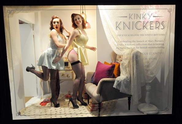 Mary Portas - Mary Portas: Kinky Knickers - Launch And Personal Appearance