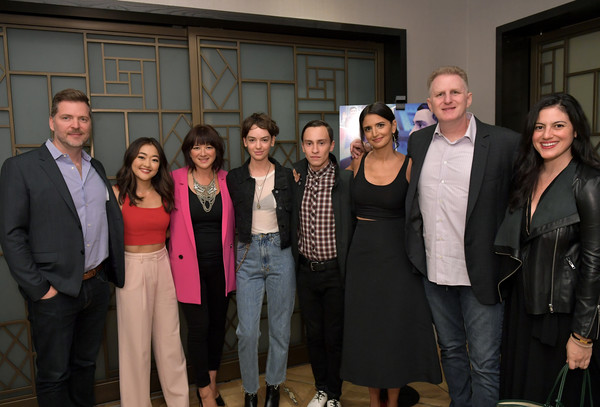 Los Angeles Special Screening Of Netflix's 'Atypical' Season 2 [season,social group,event,team,employment,robia rashid,mary rohlich,vice president,director,brian wright,atypical,netflix,los angeles special screening,original]