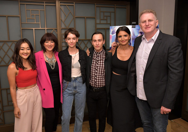 Los Angeles Special Screening Of Netflix's 'Atypical' Season 2 [season,event,social group,community,suit,formal wear,team,party,house,mary rohlich,robia rashid,amy okuda,keir gilchrist,brigette lundy-paine,michael rapaport,atypical,netflix,los angeles special screening]