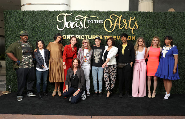 Sony Pictures Television's Emmy FYC Event 2019 'Toast to the Arts' [social group,event,youth,fashion,team,evp,dominique brown,robia rashid,bridgette lundy-paine,toast,arts,l-r,sony pictures television,emmy fyc event,worldwide casting]