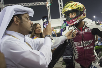 Mashel Al Naimi FIM Superbike World Championship in Qatar - Race 1