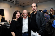 (L-R) Margaret Bodde, Alex Gibney and Kent Joens attend the Masterpieces of Polish Cinema Opening Night screening of 'Camouflage' at The Film Society of Lincoln Center, Walter Reade Theatre on February 5, 2014 in New York City.