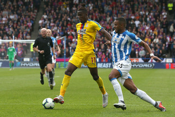 Mathias Zanka Jorgensen Huddersfield Town vs. Crystal Palace - Premier League