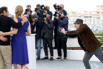 Mathieu Amalric 'Sink Or Swim (Le Grand Bain)' Photocall - The 71st Annual Cannes Film Festival