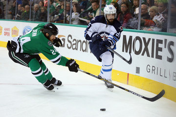 Mathieu Perreault Winnipeg Jets v Dallas Stars