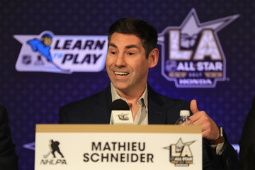 Mathieu Schneider 2017 NHL All-Star - Media Day