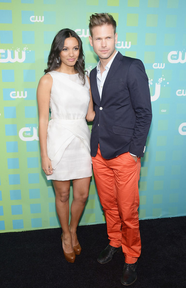 Matthew Davis with beautiful, Girlfriend Azita Ghanizada.