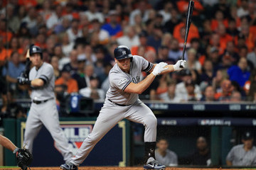Matt Holliday League Championship Series - New York Yankees v Houston Astros - Game One