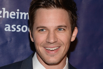 Matt Lanter Arrivals at A Night at Sardi's