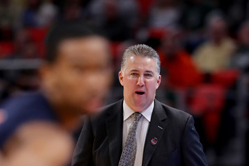 Matt Painter NCAA Basketball Tournament - First Round - Detroit