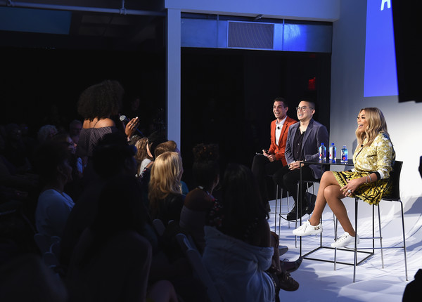 Vulture Festival Presented By AT&T - Milk Studios, Day 1 [event,fashion,design,performance,audience,convention,adaptation,conversation,stage,crowd,wendy williams,bowen yang,matt rogers,l-r,new york city,milk studios,at t,vulture festival]