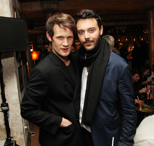 At Large Magazine Dinner in Honor of Cover Star Jack Huston at Elyx House [suit,fashion,event,formal wear,outerwear,cool,facial hair,blazer,white-collar worker,smile,jack huston,large magazine dinner in honor of cover star,actors,matt smith,honor,elyx house,new york city,at large magazine,dinner]