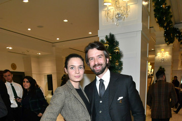 Matteo Del Vecchio Brooks Brothers And St Jude Children's Research Hospital Annual Holiday Celebration In New York City