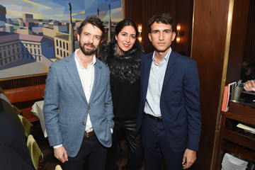 Matteo Del Vecchio Oliver Peoples Pour Berluti Launch Celebration