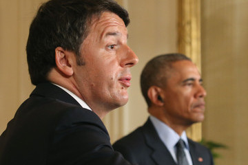Matteo Renzi President Obama Holds News Conference With Italian Prime Minister Renzi At The White House